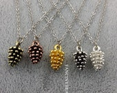 Christmas Clearance SALE-50 pcs cute pine cone charms-F868 869 F705 F178 F745 F721