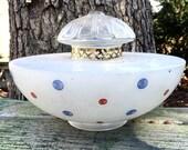 Vintage Glass Globe