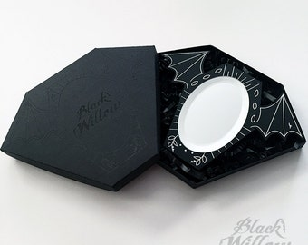 Bat Mirror by Lupe Flores