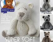 Crochet Teddy Bear SUPER SOFT