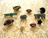 Football Thumbtack, Football Push Pin, Football Notice Board Pins