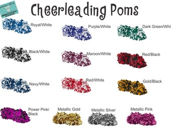 Pom Poms !  Cheerleading Uniform Accessories.
