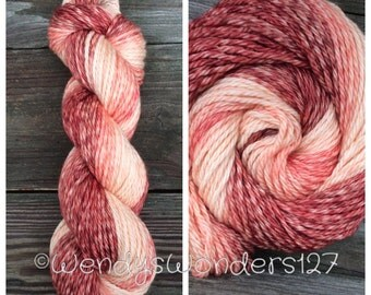 Hand Dyed Yarn, Gradient Yarn, Bulky Yarn, Merino Wool