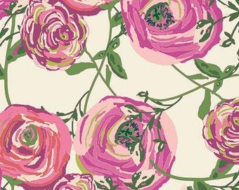 1 Yard Paradis Sweet, Joie de Vivre Collection by Bari J, Art Gallery Fabrics, Quilting Cotton