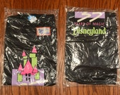 vintage 90s Disneyland shirt 35 years of magic neon castle logo 35th anniversary t-shirt deadstock NOS large L
