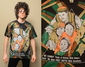 vintage Kacy World Colros shirt Positive People Family african american t-shirt black culture 90s 1990 hip hop street style Africana XL