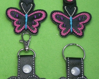 Key Chain, Butterfly or Camera Keychain