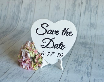 Wedding Signs/Photography Prop-Save the Date!-Your Choice of Colors- Ships Quickly