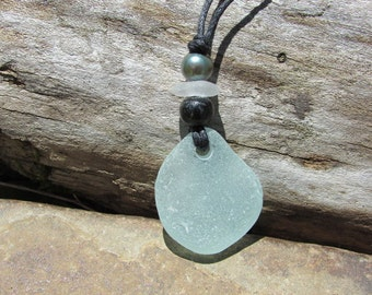 SIMPLE Beach Glass Necklace