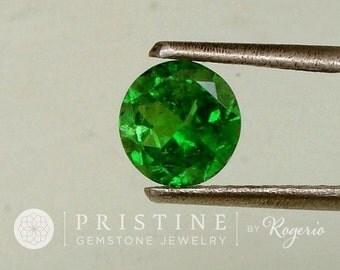 Tsavorite Green Garnet Round Shape 6 MM January Birthstone