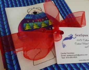 Fat Quarter Bundles (4 fabrics), RJR, The Polar Brigade, Christmas Fabrics, Holiday Fabric