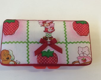 Strawberry Shortcake Baby Wipe Case Personalized