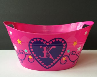 Personalized Gift Tub or Storage Tub