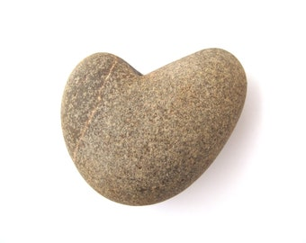 Stone Heart Love Heart Zen Pebble Beach Craft Stone Natural Stone Heart Shaped Rock Heart Valentine Wedding Gift Home Decor SMOOTHIE