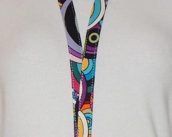 Teacher Lanyard Key Lanyard Fabric Lanyard Lanyard  Multi Colored