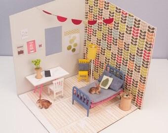 Custom Dollhouse Room Complete