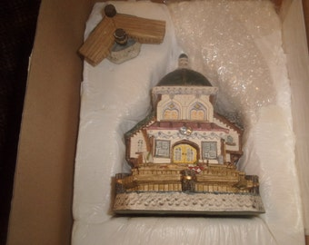vintage david winters cottage seaside boardwalk barnacle theatre 1995 mint in box