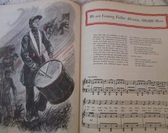 1940s song book-A Treasury of Stephen Foster- first printing