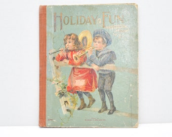 Holiday Fun  Little Chatterwell Series  1910's book