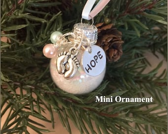 Baby Dust Ornament, Baby Dust Wishes, Wishing Dust, Christmas Ornament, Holiday Ornament, Infertility, TTC, PCOS