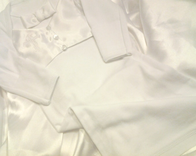 Christening baptism gown Coming home outfit for Baby Boys'