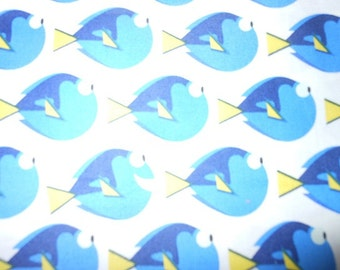 Disney Finding Dory White/Toddler Reversible Car Seat Strap Covers (Your choice minky)
