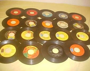 45 RPM lot of 19 vintage 70s Vinyl Records Funk Northern Soul etc