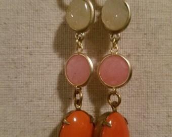 Sunny Burst Dangle Earrings