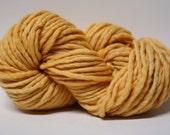 Single Ply Yarn Merino Slub Hand Dyed 44sp15030 Goldilocks