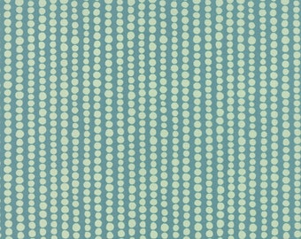 Tucker Prairie Bubbles in Foxtail Turquoise, One Canoe Two, Moda Fabrics, 100% Cotton Fabric, 36005 21