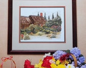 50% OFF Designs By Melinda The GARDEN COTTAGE By Cross My Heart, Inc. - Counted Cross Stitch Pattern Chart