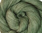 SALE merino nylon lace yarn CITADEL hand dyed