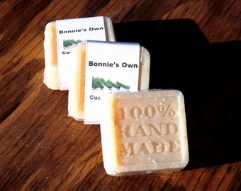 Goats Milk Soap, Cucumber Oak, 2 oz bar, Cold Process Soap, Manly Musk, Woodsy Musk Soap, Cucumber Lemon Soap, Wood Soap, Spring Soap, Oak