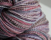 Handspun Yarn: Snow Lightning - RESERVED FOR EMMYROSE