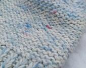 Bulky slouchy wool winter hat