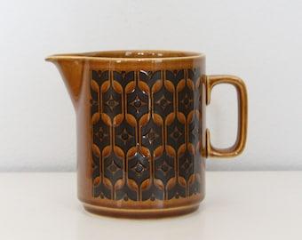 Hornsea Heirloom Pitcher - Vintage Pottery - Vintage Ceramic Pitcher - Ceramic Milk Jug - Creamer - Hornsea Pottery - Heirloom Pattern