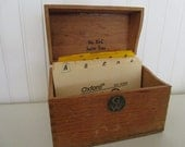Vintage Globe Wernicke Index Box // Junior Tray // No. 83-C