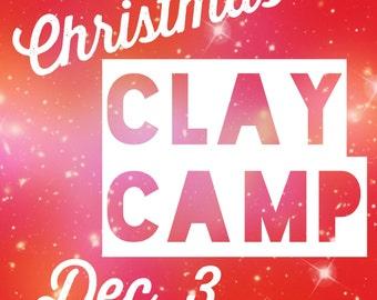 Christmas Clay Camp 2016