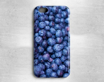 Gifts for Foodies Blueberries iPhone 7 Case - Available for iPhone 7 Plus, iPhone 6S, iPhone 6, iPhone 5s, iPhone 5c, iPhone 5, iPhone 4s