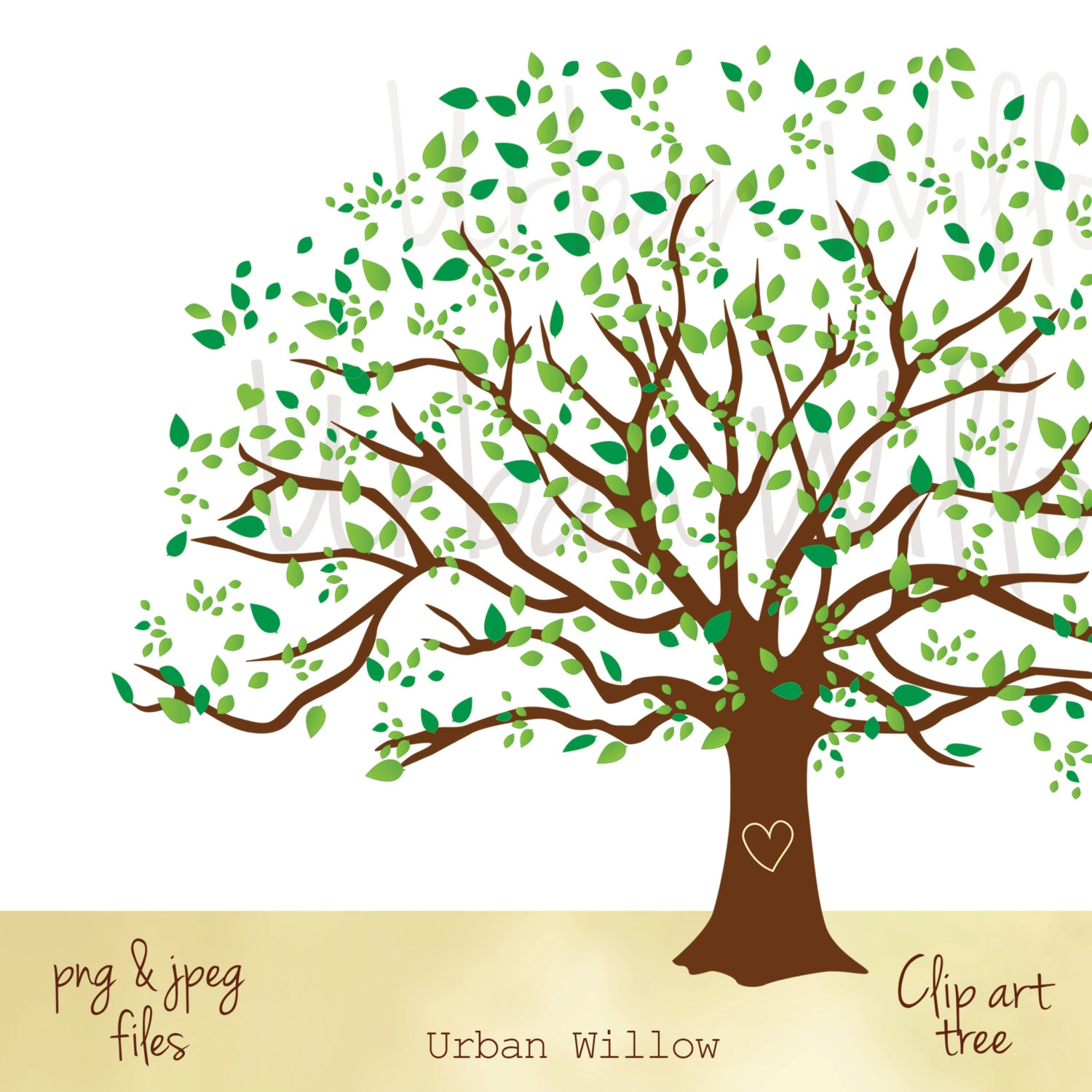 Large Family Tree Graphic, Family Tree Image, Clipart Natural ...