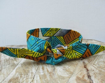 Wax Print headband, African Print headband, Hairband, Hair accessory