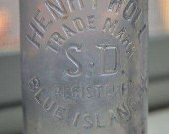 Antique Henry Roll Bottle