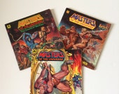 1980's Masters of the Universe Books