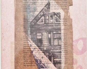 SF House Letterpress Print