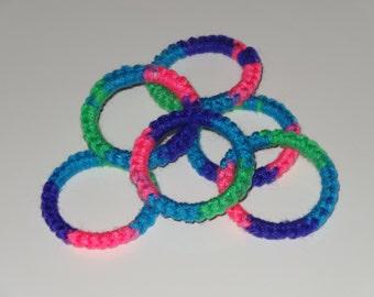 Crochet Ring Cat Toys- RAZZLEBERRY Set of 6