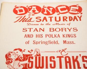 Mid Century Polka Poster