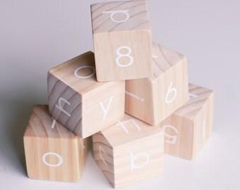 Alphabet Blocks set of 6