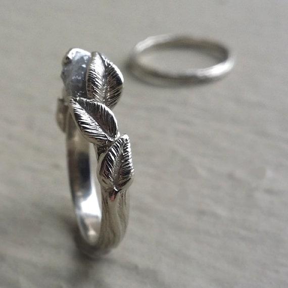 Natural Uncut Diamond Engagement Ring Reviews