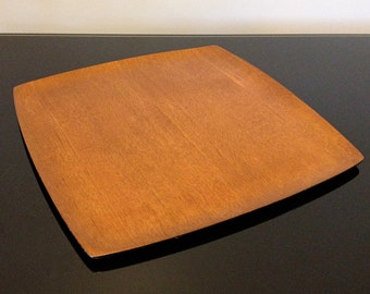 NCC - Shigemichi Aomine - National Crafts Council - Square Teak Tray