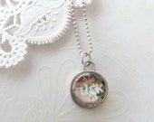 Silver Small Fuck Necklace
